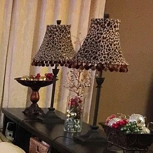 Leopard 🐆 Lampshades
